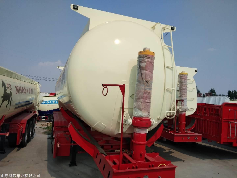 轻型11米罐式后翻半挂车配置参数与价格