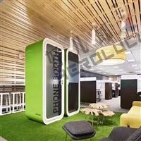 廠家直銷室內電話亭-辦公室電話亭-隔音電話亭可移動組裝