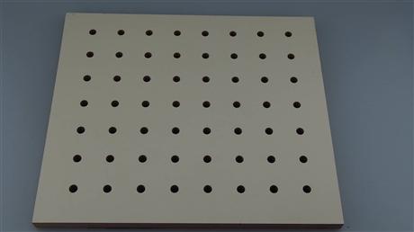 厂家批发 会议室报告厅孔木吸音板 云浮环保阻燃孔木吸音板