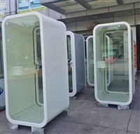 電話亭廠家直銷-室內隔音電話亭-辦公室電話亭可組裝全國配送