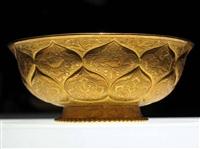 蓮瓣紋金碗拍賣價格與圖片