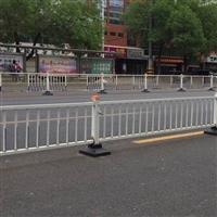 批发京式道路隔离栏\新建设小区门口隔离栏\机动车道护栏价
