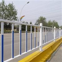 马路临时防护栏 人行道隔离栏 圆管焊接隔离栏规格型号齐全