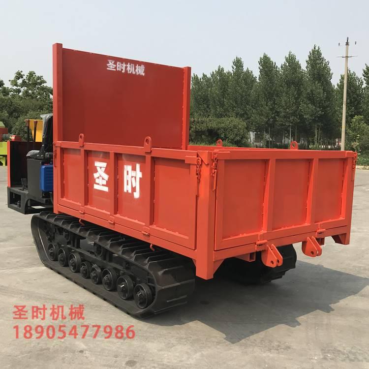 履带式拖拉机 履带座驾运输车图片