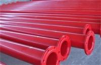 地埋内外涂塑钢管规格尺寸