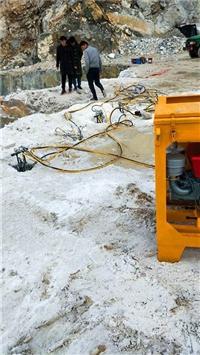 貴州務川不允許放炮碎石頭分裂器