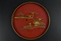 漆器圓盤上門收購市場定位價格