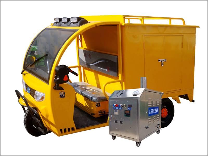 创业就选移动上门蒸汽洗车机设备
