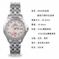 纪念祖国成立70周年手表