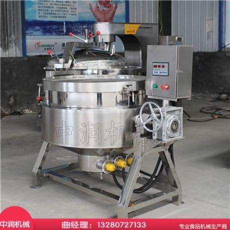 现代化蒸煮模式的粽子蒸煮锅 自动开关盖 篮筐出料更方便