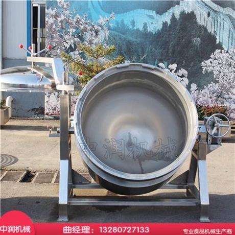智能化操作 高压粽子蒸煮锅 煮制时间短效率高 节省成本