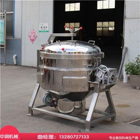 高压粽子蒸煮锅 与传统粽子锅的优势所在