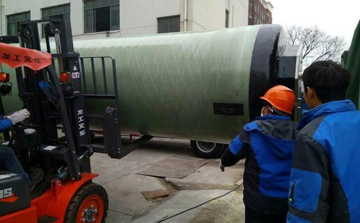 銅陵一體化污水提升泵站裝置