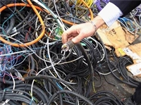深圳布吉二手电线电缆高价回收