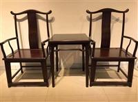 紫檀四出頭椅鑒定收購哪里可靠