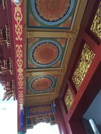 鋁合金門樓牌坊 寺廟寺院斗拱藻井 佛堂地宮存放架