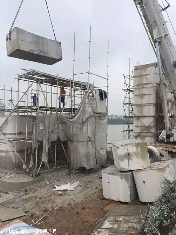 铜仁桥台切割墩柱拆除