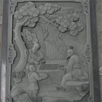 惠安石雕厂家直销 寺庙青石浮雕堵石 寺庙浮雕室内石雕 浮雕墙
