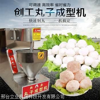 LEARPIN/立業良品 和田市潮州牛肉丸機 肉丸子成型機