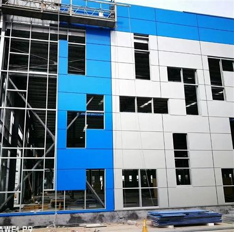 彩钢聚氨酯复合板  聚氨酯封边岩棉复合沧州市批发商中汇钢构