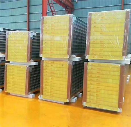 聚氨酯双面彩钢板  彩钢玻璃棉复合板邯郸市生产厂家中汇建筑钢品