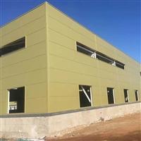 聚氨酯封边岩棉复合板 聚氨酯金属外墙板东城区价格行情中汇钢构