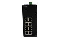 讯记CK5080轻环网工业交换机-非网管型工业以太网交换机