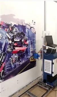墙体彩绘机3D墙面壁画绘画机 墙体广告喷绘设备