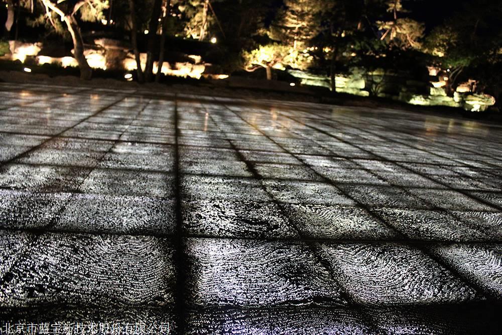 藍寶透光混凝土及透光水泥地面
