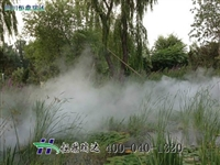 人造雾系统高压喷雾