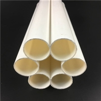 PVC七孔梅花管 塑料PVC七孔穿线管 通信管道 电力护套管