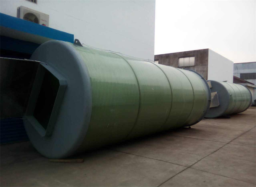贵阳PE泵站除臭装置