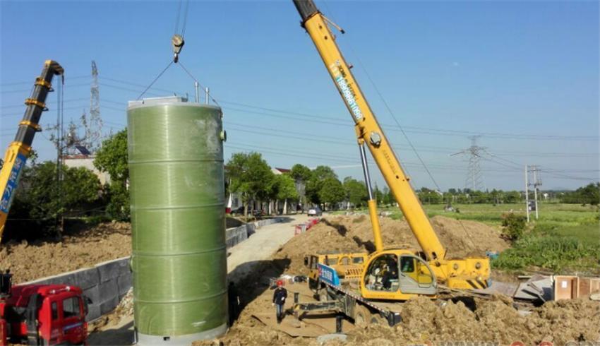中卫PE泵站除臭装置