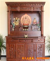 寺院佛龛立柜供桌供台佛坛厂家直销