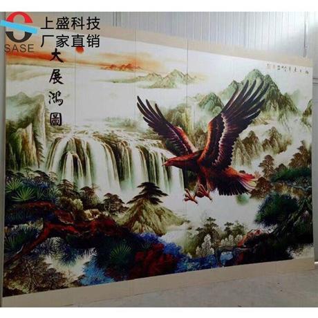 黑龙江uv平板打印机  户外uv墙体喷绘机