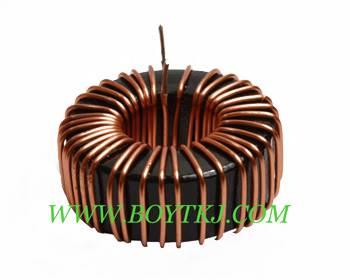 带底座铁硅铝电感KS050125立式磁环电感 插脚电感器