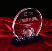 水晶圓牌比賽獎牌 模特大賽獎牌 十佳青年獎牌