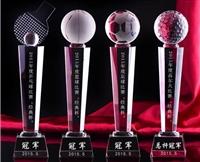 水晶高爾夫球獎杯  總桿凈桿最遠距離  最近洞獎獎杯