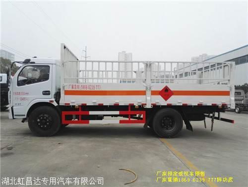 东风气瓶车 东风多利卡7.65吨气瓶e8国际娱乐app 5.15米箱长