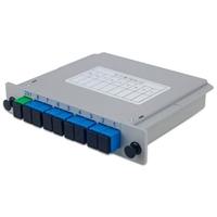 插片式光分路器  盒式1分8  PLC 1分16 平面波导型1分4  熔融拉锥