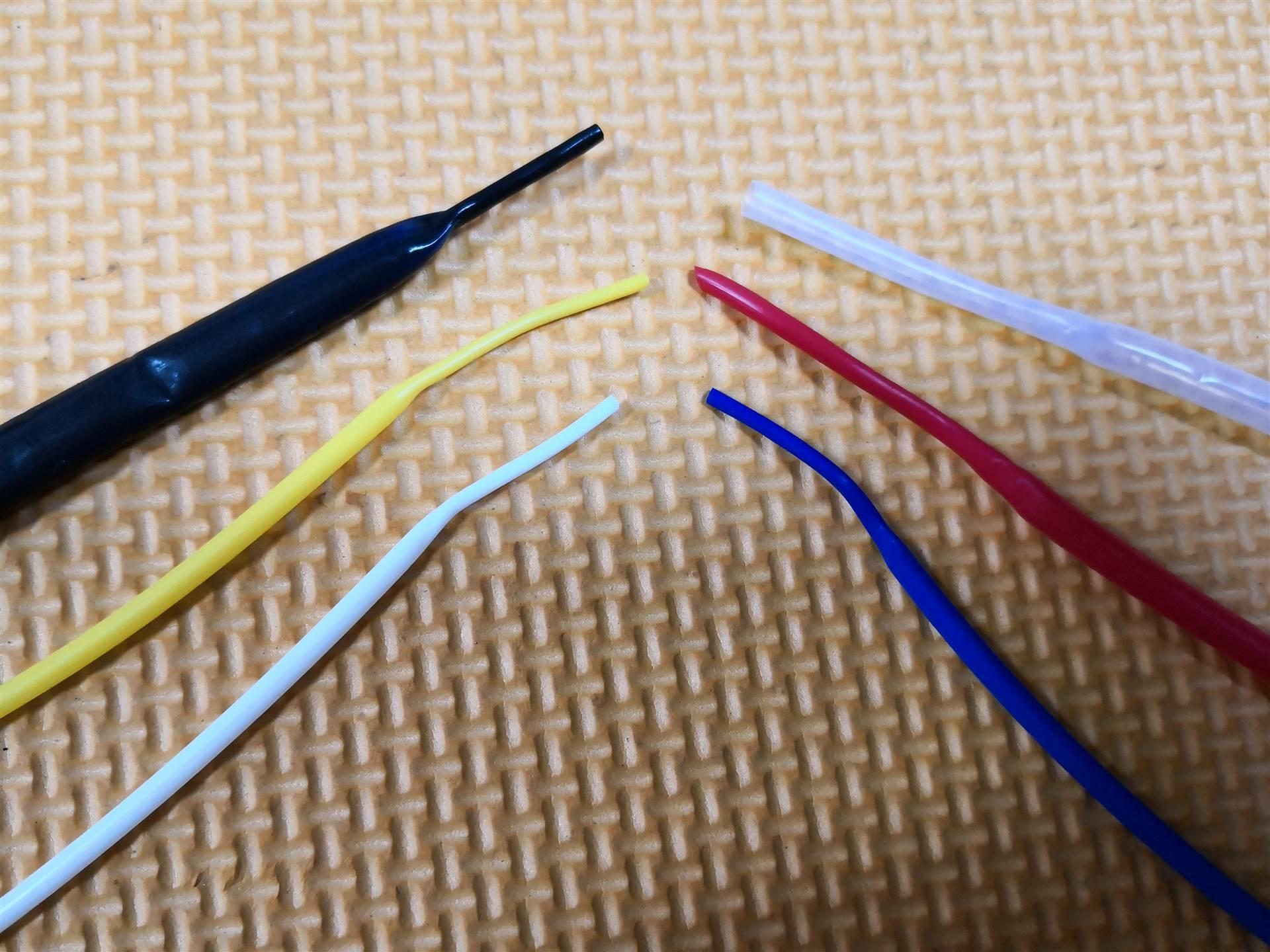 0.5mm,1.5mm,2.0mm红色,蓝色,黑色铁氟龙热缩管现货价格