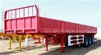 13米平板自卸半挂车处理库存价格