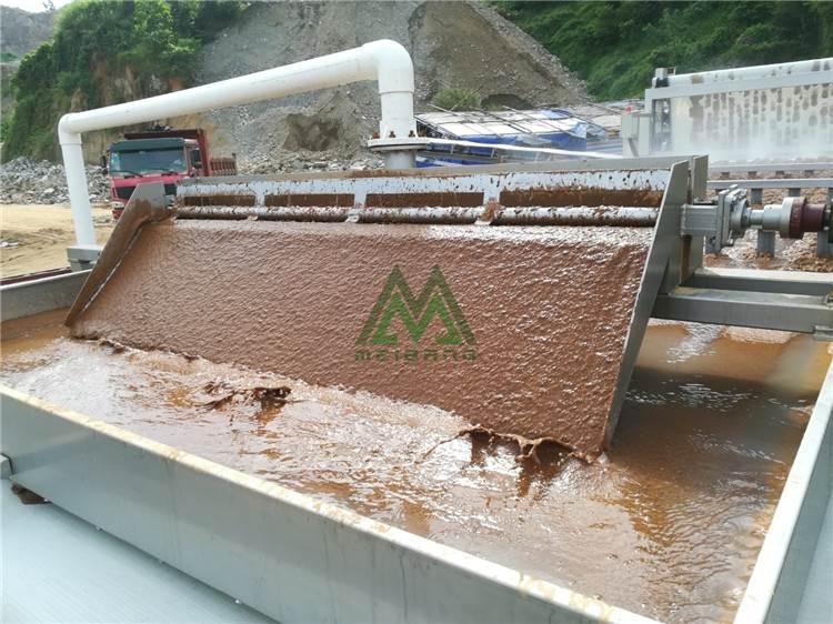 水洗石粉泥浆脱水 泥浆分离器