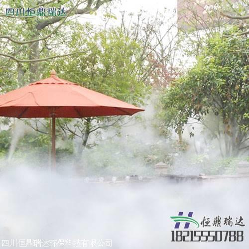 喷雾降温安装系统怎么做