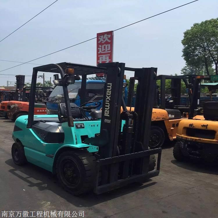 二手叉车南通价格 合力2吨3吨二手柴油叉车促销包邮