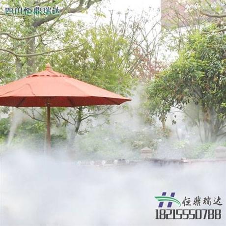 成都天府广场喷雾降温设备