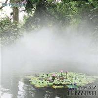 水系公园广场景观造雾