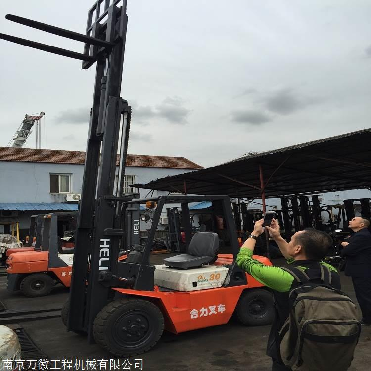 杭州3吨二手叉车 二手内燃叉车 扬州出售二手叉车包邮现货
