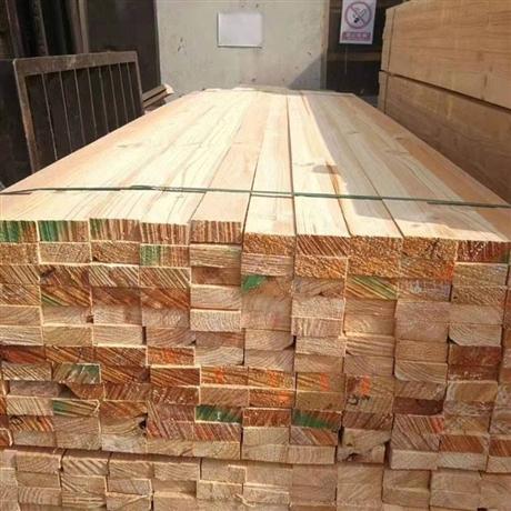 建筑工地木方厂家电话 木方价格建筑木方 铁杉木方的价位木方条