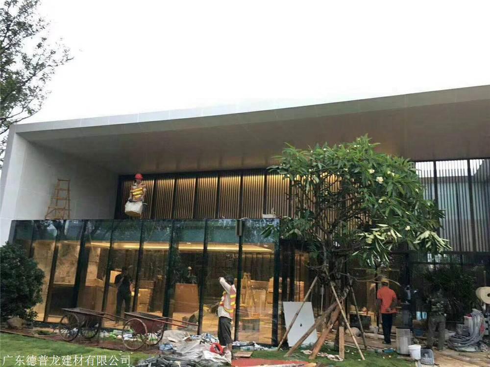 邯郸各种规格艺术镂空铝窗花哪家好豪华别墅长沙图片